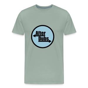 After Dubs Evening Logo - Men's Premium T-Shirt