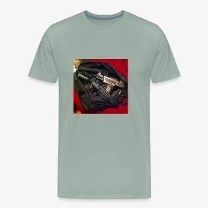 Gun Bag - Men's Premium T-Shirt