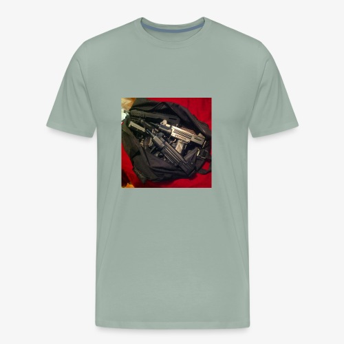 Gun Bag - Men's Premium T-Shirt