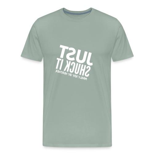 HEATHER FLIPPED - Men's Premium T-Shirt