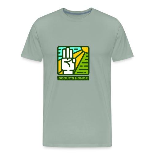 scouts honour - Men's Premium T-Shirt