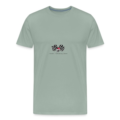 varoom1skull&flags - Men's Premium T-Shirt