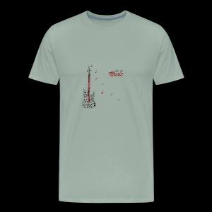 Feel The Music - Men's Premium T-Shirt