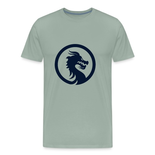 Dragon Logo PNG - Men's Premium T-Shirt