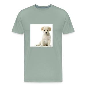 A Cute Puppy - Men's Premium T-Shirt