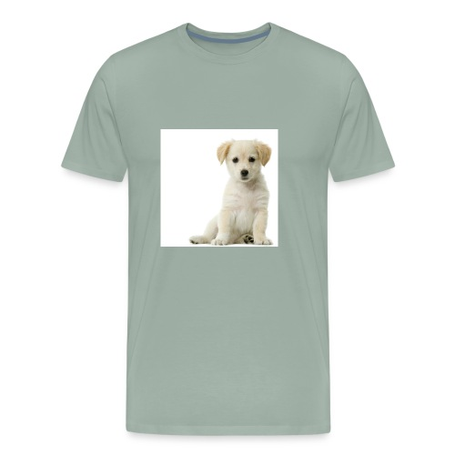 A Cute Puppy - Men's Premium T-Shirt