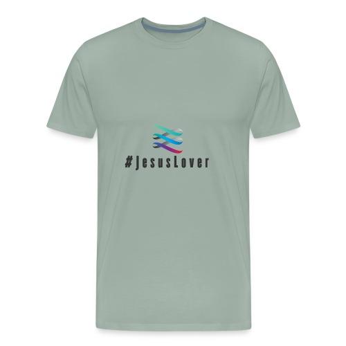#JesusLover - Men's Premium T-Shirt