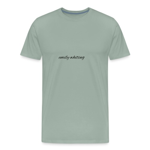 Emily whiting channel name - Men's Premium T-Shirt