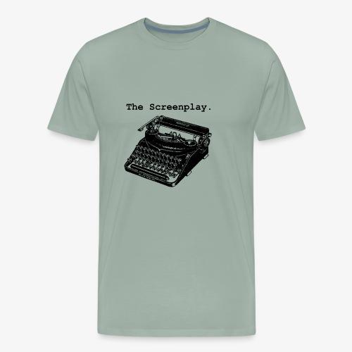Full Logo (BLACK) - Men's Premium T-Shirt