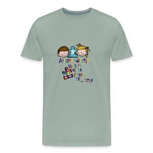 tple autism shirt - Men's Premium T-Shirt