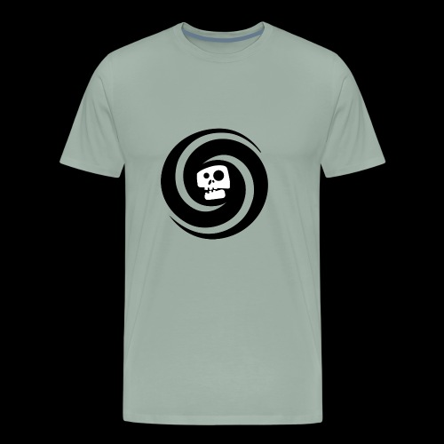 skul white - Men's Premium T-Shirt