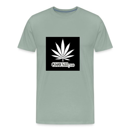 Weed Leaf Gkush710 Hoodies - Men's Premium T-Shirt