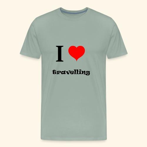 i love travelling - Men's Premium T-Shirt