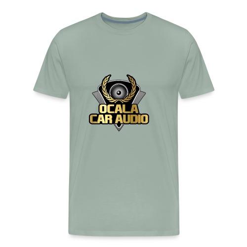 Large Crest - Men's Premium T-Shirt
