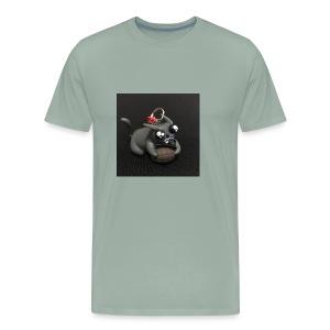 exploding kittens cat - Men's Premium T-Shirt
