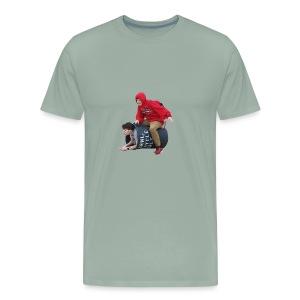 Downy Spacemen - Men's Premium T-Shirt