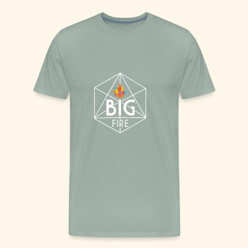 BiG Fire 2018 White - Men's Premium T-Shirt