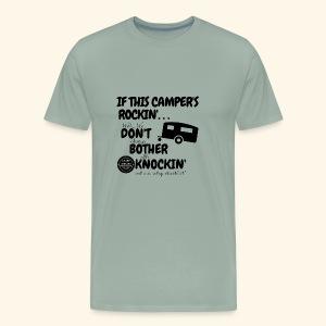 If this camper's rockin' - Men's Premium T-Shirt