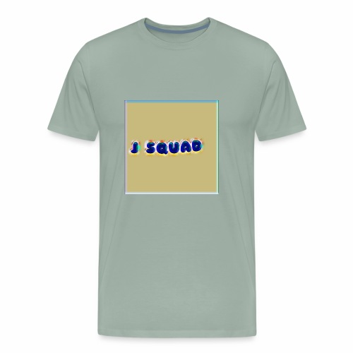 The J SQUAD RAINBOW - Men's Premium T-Shirt