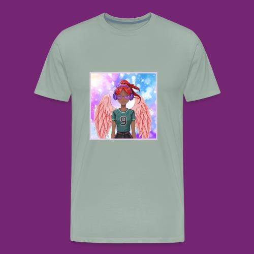 Angel dazed in love - Men's Premium T-Shirt