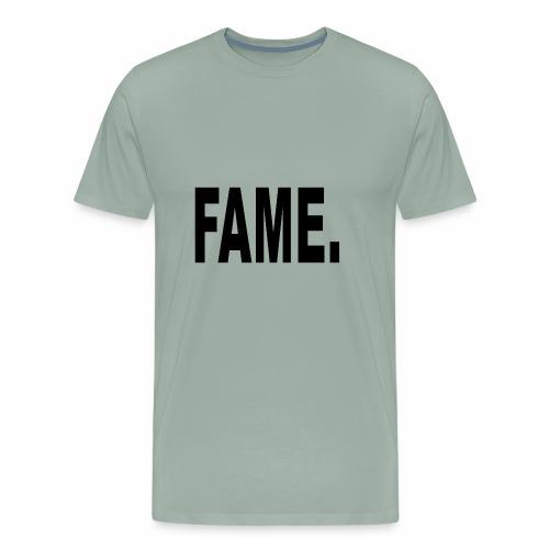 Fame Schwarz - Men's Premium T-Shirt