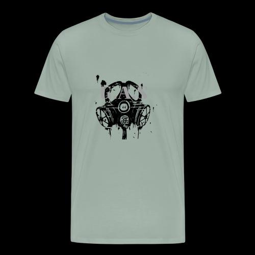 Big Black Gas Mask - Men's Premium T-Shirt