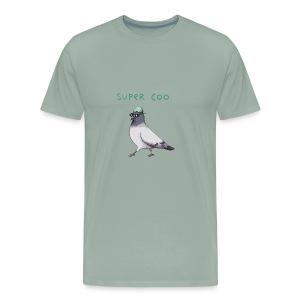 Super Coo - Pigeon - Men's Premium T-Shirt