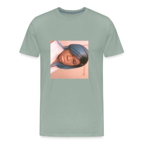 Pouting girl - Men's Premium T-Shirt
