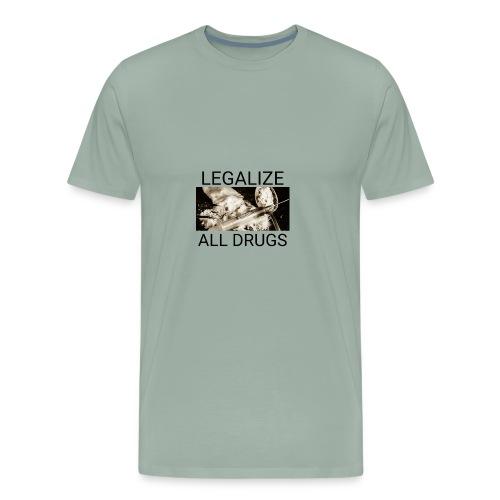 Legalize drugs - Men's Premium T-Shirt