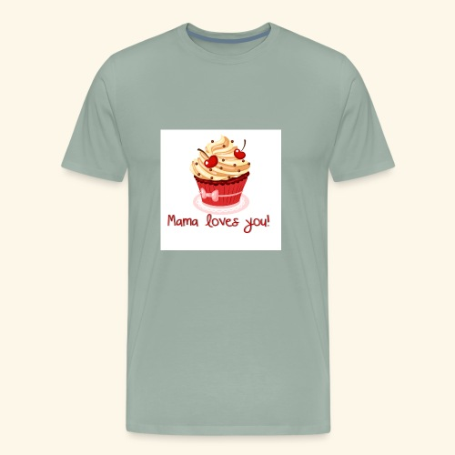mamalovesyou - Men's Premium T-Shirt
