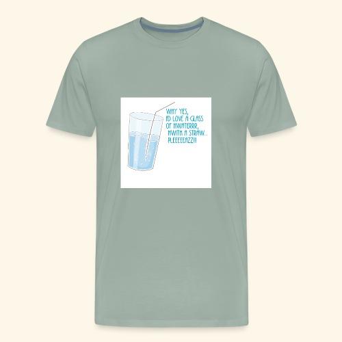Fancy Water - Men's Premium T-Shirt