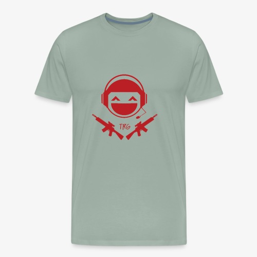 TRG Logo transparent Large - Men's Premium T-Shirt
