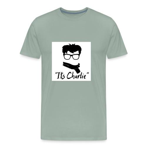 Its Charlie Logo - Men's Premium T-Shirt