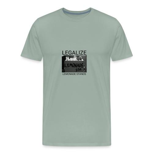 Legalize lemonade stands - Men's Premium T-Shirt