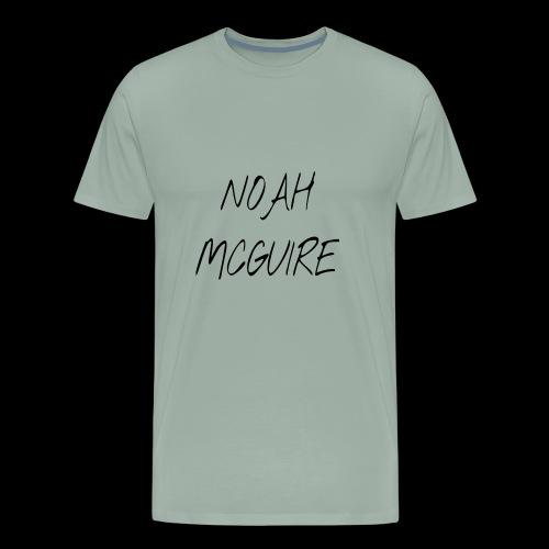 Noah McGuire design (Black) - Men's Premium T-Shirt