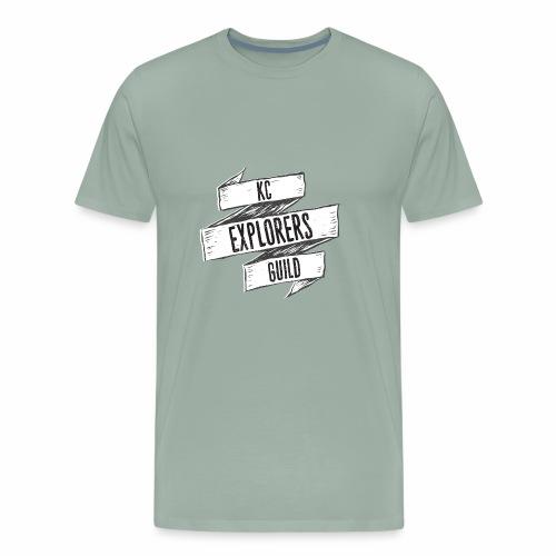 KCEG 3 Ribbon Logo - Men's Premium T-Shirt