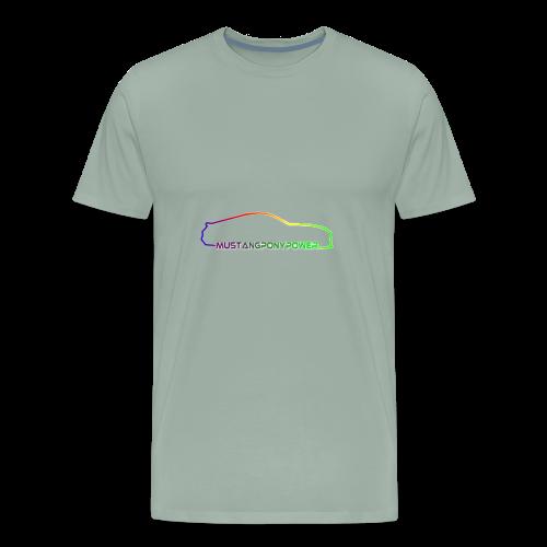 mustangponypower - Men's Premium T-Shirt
