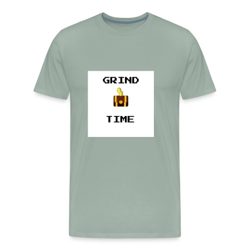 GRIND TIME - Men's Premium T-Shirt