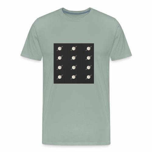 Planetary Pattern - Men's Premium T-Shirt