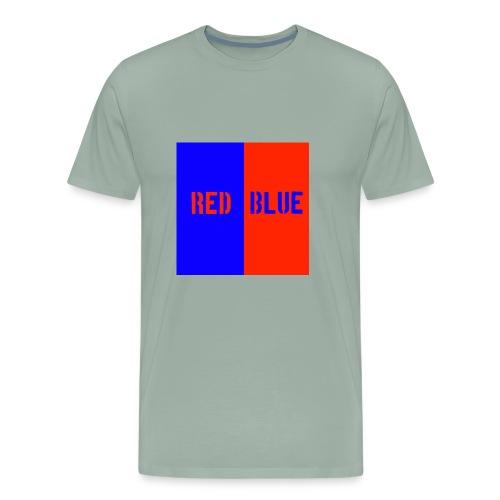 Red Blue Classic - Men's Premium T-Shirt