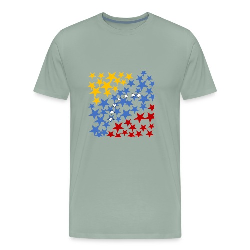 Venezuela´s Flag with stars - Men's Premium T-Shirt