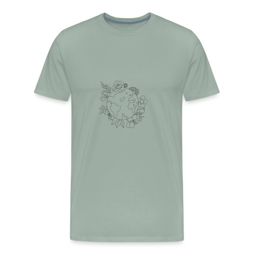 Love Blooms - Men's Premium T-Shirt