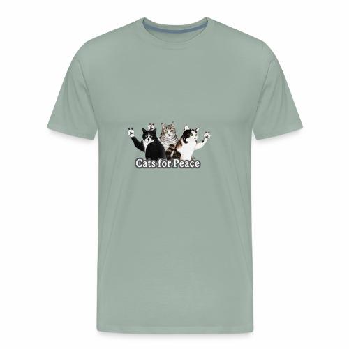 Cats for peace - Men's Premium T-Shirt