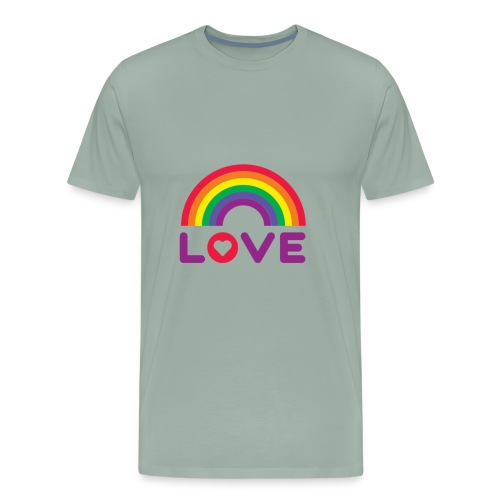 Rainbow Love - Men's Premium T-Shirt