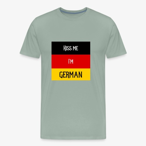 Kiss me I'm German - Men's Premium T-Shirt