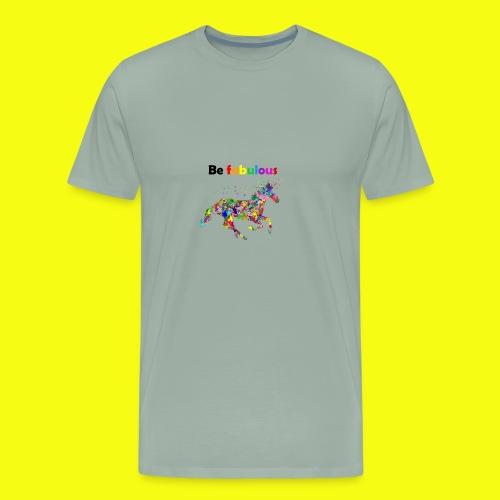 Fabulous colorful unicorn gift idea - Men's Premium T-Shirt