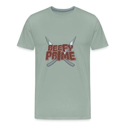 Beefy Prime logo knives - Men's Premium T-Shirt