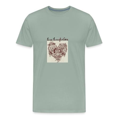Live laugh love - Men's Premium T-Shirt