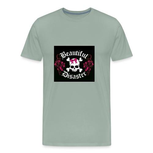 Beautiful Disaster - Men's Premium T-Shirt