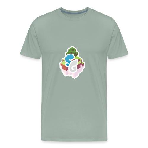 SkyGames Logo MODERN - Men's Premium T-Shirt